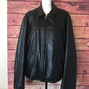 M. Julian black leather jacket